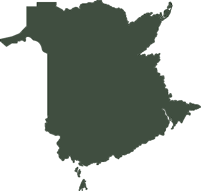 Outline of New Brunswick
