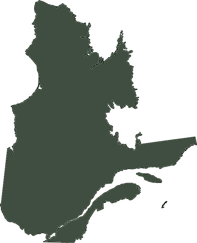 Outline of Quebec