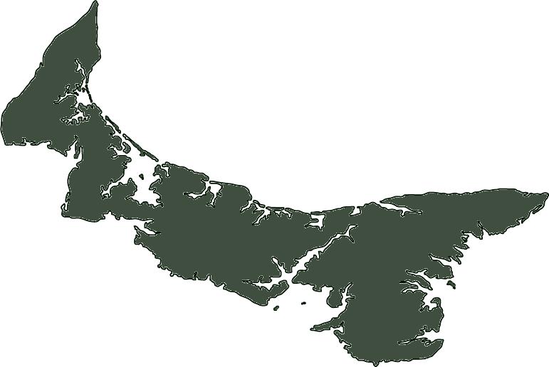 Outline of Prince Edward Island