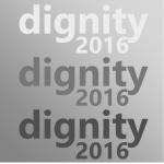 Dignity 2016 campaign logo