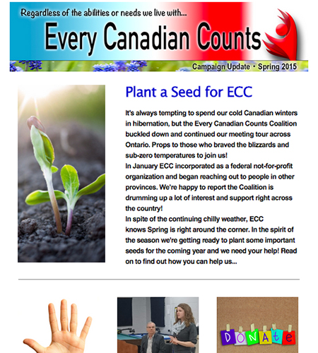 Spring 2015 ECC newsletter