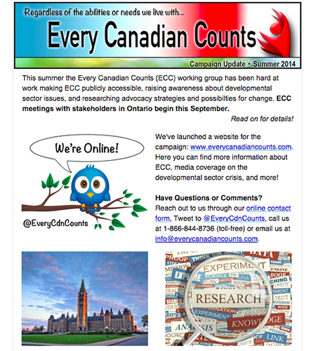 Summer 2014 ECC newsletter