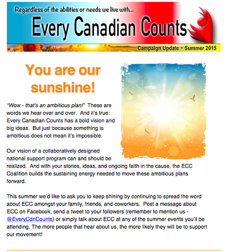Summer 2015 ECC newsletter