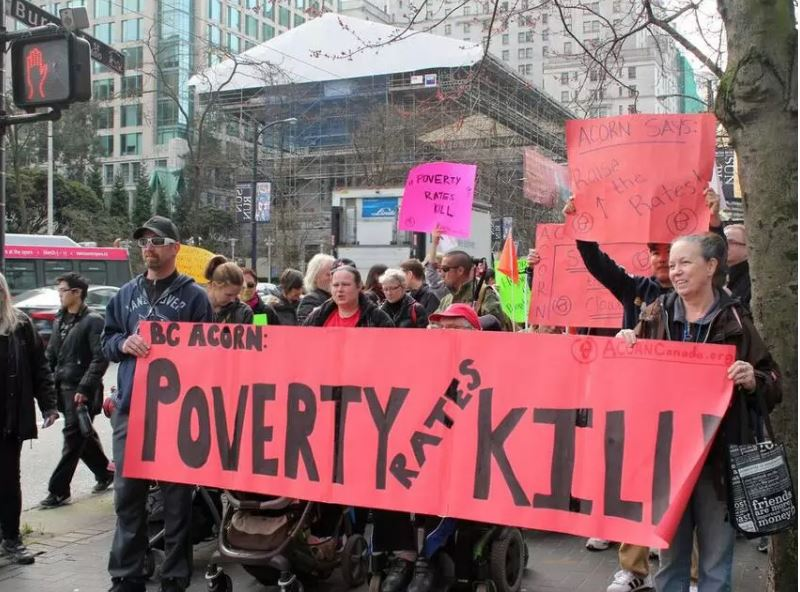 Poverty Protest