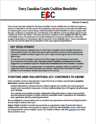 ECC Newsletter, Volume 3, Issue 2